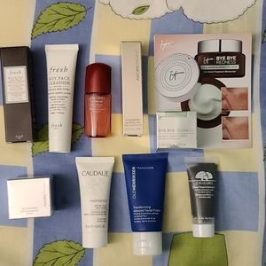 Deluxe sized samples of skincare